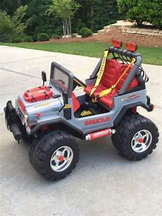 peg perego gaucho silver edition ride on jeep 12 volt for