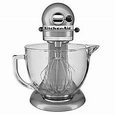Kitchenaid Mixer Exchange by Kitchenaid 174 5 Qt Stand Mixer With Glass Bowl Bed Bath