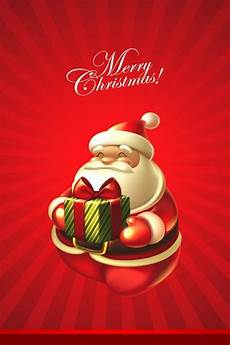 santa merry christmas iphone 7 wallpaper iphone7wallpapers co