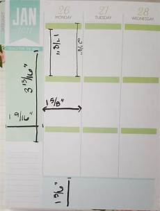 Planner Dimensions by Classic Recollections Planner Measurements Goodstuff