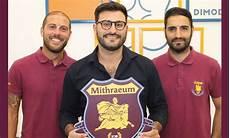 panchina di calcio calcio mithraeum 2018 conferma per il tandem in
