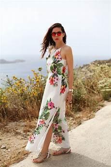 vestito con fiori fashion fashionista irene hoffman colzi vestito lungo