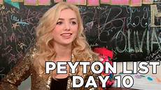 Peyton List Dishes On New The Outskirts 10 Days