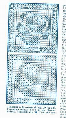 copriletti uncinetto schemi copriletti a filet tutti con schema