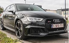 audi rs3 sportback 8v 2018 23 october 2017 autogespot