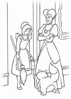 Ausmalbilder Zum Ausdrucken Cinderella Malvorlagen Zum Drucken Ausmalbild Cinderella Kostenlos 3