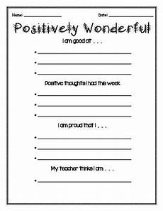 self esteem positive thinking worksheets 1st grade self esteem activities self esteem