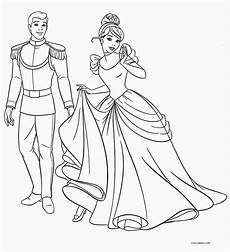 free printable cinderella coloring pages for