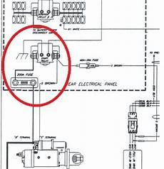 freightliner starter solenoid wiring american coach help stranded rv will not start road service is clueless page 2 irv2 forums