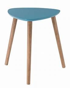 Table Basse Nomad Chene Bleu