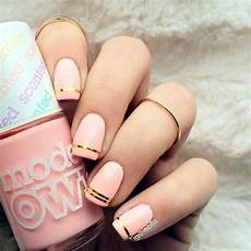 21 chic pink and gold nails designs naildesignsjournal com