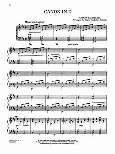 canon in d sheet music by johann pachelbel sheet music plus