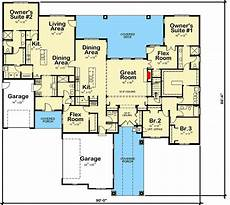 multi generational ranch home plan 42526db