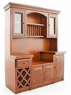 Kitchen Furniture Ebay by Mahogany Wood Wine Drawer Cupboard Cabinet 1 12 Doll S