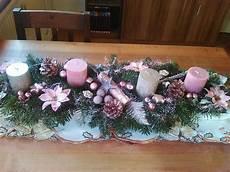 adventsgesteck rosa silber adventsgesteck rustikale