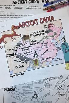 china worksheets for elementary 19428 ancient china map activity china map map activities ancient china