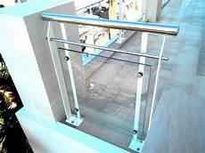ringhiera in acciaio ringhiera in ferro acciaio e vetro ab serramenti