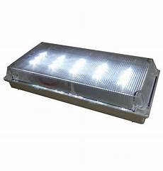 110v 220v wall mounted recessed emergency lights for