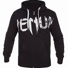 venum undisputed hoody black white fighters shop bull terrier