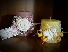 decorare le candele per natale candele decorate con gesso o stoffa per la casa e per te
