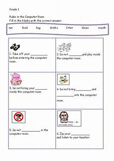 computer worksheet for grade 1 the best worksheets image collection download and share worksheets