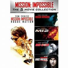 mission impossible 5 mission impossible 5 collection dvd walmart