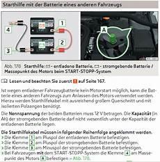 batterie laden bei start stopp automatik