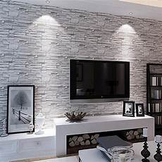 tv wand schiefer 3d bricks slate wallpaper 10m roll bar hotel tv