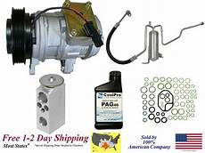 automotive air conditioning repair 2001 jeep grand cherokee auto manual new a c ac compressor kit for 2002 2003 2004 jeep grand cherokee 4 7l ebay