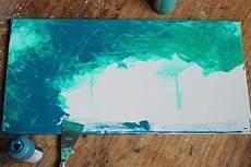 Türkis Farbe Mischen - aufgestapelt mach mal kurz kunst