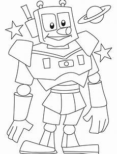 robots coloring pages and print for free