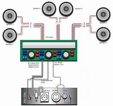 6 speakers 4 channel wiring diagram free wiring diagram