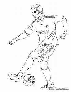 christiano ronaldo soccer coloring pages