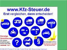 Kfz Steuer Berechnung Neu 2015 Kfz Steuer Pkw