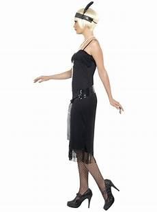 disfraz de joven a la moda de los a 241 os 20 negro comprar