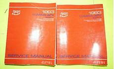service manuals schematics 1993 chevrolet lumina apv regenerative braking 1993 chevrolet lumina apv oem factory service shop manual 2 volume set ebay