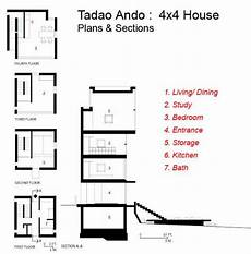 tadao ando 4x4 house plans architecture architectuul small house tadao o
