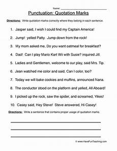 punctuation worksheets skillsworkshop 20892 grammar worksheets teaching