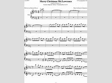 merry christmas mr lawrence music