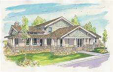 craftsman style house plans with wrap around porch wrap around porch d house styles craftsman style house