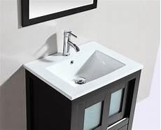 Bathroom Vanity Tops Modern by Alec 24 Inch Modern Freestanding Espresso Bathroom Vanity