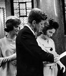 jackie kennedy jfk and princess radziwill at the christening of s