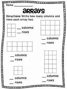 arrays arrays arrays third grade math homeschool math elementary math