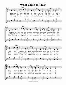 free choir sheet music what child is this michael kravchuk