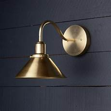 gooseneck brass shade wall sconce in 2019 wall sconces bathroom light fixtures bathroom sconces