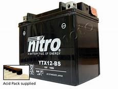 Kawasaki Zzr 600 Zx 600 E13 05 Battery Nitro Parts At