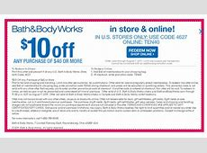 bath and body works 20% off coupon