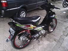Supra X 100 Modif Standar by Modifikasi Motor Supra X 100cc Satu Manfaat