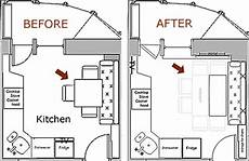 Kitchen Floor Plans For Small Kitchens by 3 Improvising A Small Kitchen