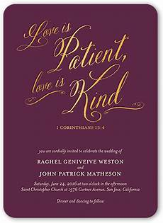 Wedding Invitation Verse